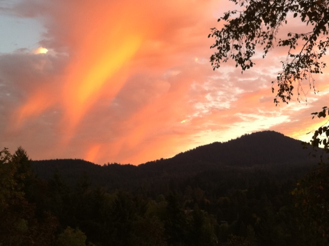 Sunset on the Butte